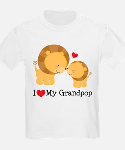 I Heart My Grandpop T-Shirt