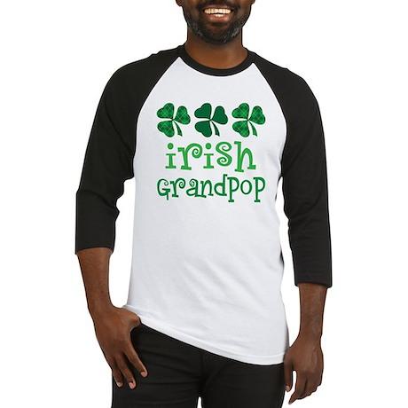 Irish Grandpop Grandpa Baseball Jersey