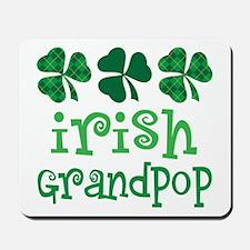 Irish Grandpop Grandpa Mousepad