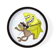 bad banana Wall Clock