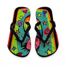 Rainbow Baby Flip Flops