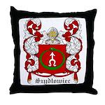Szydlowiec Coat of Arms Throw Pillow