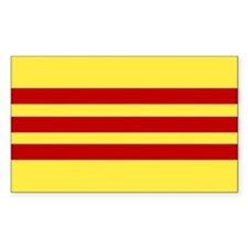Vietnamese Flag Rectangle Decal
