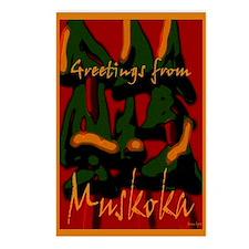 Muskoka Greetings Postcards (Package of 8)