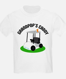 Grandpops Golf Caddy T-Shirt