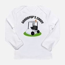 Grandpops Golf Caddy Long Sleeve Infant T-Shirt