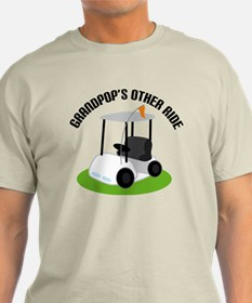 Grandpop Golf Cart T-Shirt