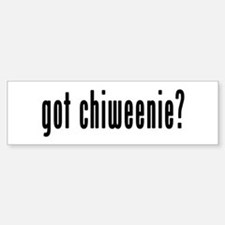 GOT CHIWEENIE Sticker (Bumper)