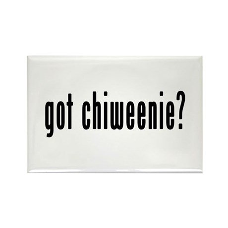 GOT CHIWEENIE Rectangle Magnet