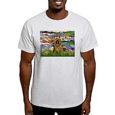 Lilies & Silky Terrier T-Shirt