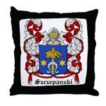 Szczepanski Coat of Arms Throw Pillow