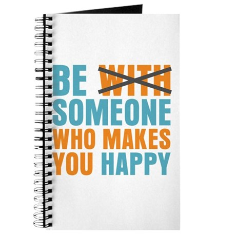 Who Makes You Happy Journal