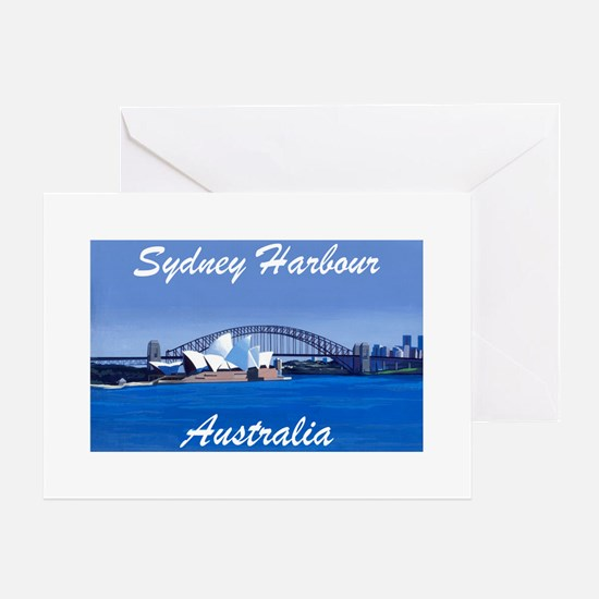 Sydney Harbour Painting Greeting Cards (Pack of 6)