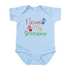 I Love Grandpop Infant Bodysuit