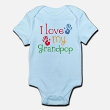 I Love Grandpop Infant Bodysuit