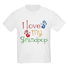 I Love Grandpop T-Shirt