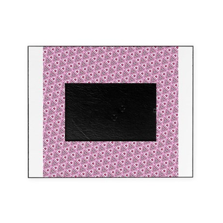 Pink funky pattern Picture Frame