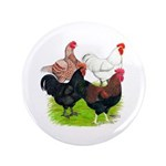 "Heavy Breed Roosters 3.5"" Button (100 pack)"