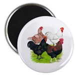"Heavy Breed Roosters 2.25"" Magnet (10 pack)"