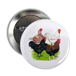 "Heavy Breed Roosters 2.25"" Button (10 pack)"