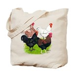 Heavy Breed Roosters Tote Bag
