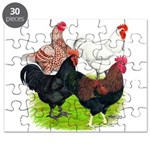 Heavy Breed Roosters Puzzle