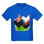 Heavy Breed Roosters Kids Dark T-Shirt