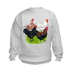 Heavy Breed Roosters Kids Sweatshirt