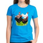 Heavy Breed Roosters Women's Dark T-Shirt