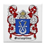 Szczaplina Coat of Arms Tile Coaster