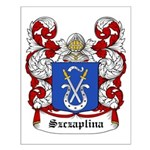 Szczaplina Coat of Arms Small Poster
