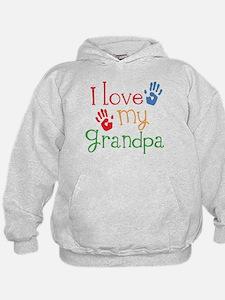 I Love Grandpa Hoodie
