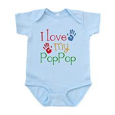 I Love PopPop Infant Bodysuit