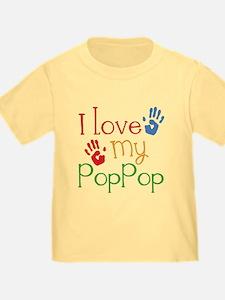 I Love PopPop T