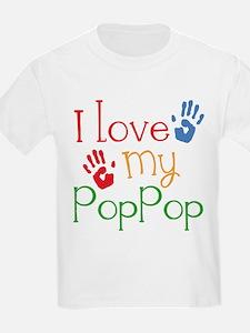 I Love PopPop T-Shirt