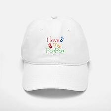 I Love PopPop Baseball Baseball Cap