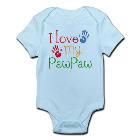 I Love PawPaw Infant Bodysuit