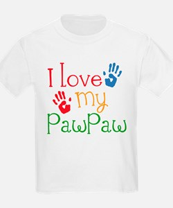 I Love PawPaw T-Shirt