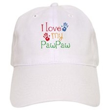 I Love PawPaw Baseball Cap
