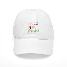 I Love Grandad Baseball Cap