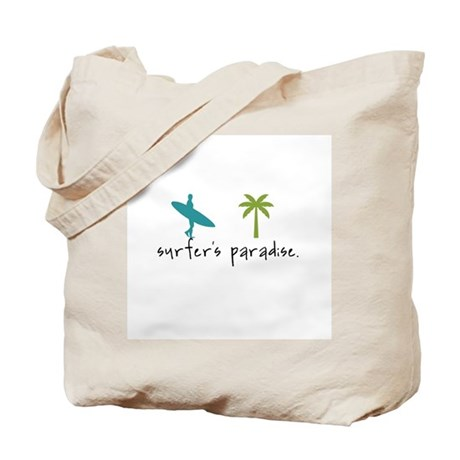 Surfer's Paradise Tote Bag