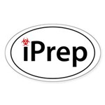 iPrep Sticker (Oval 10 pk)