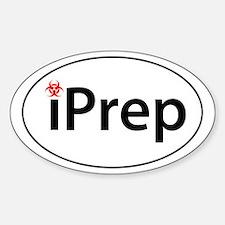 iPrep Sticker (Oval)