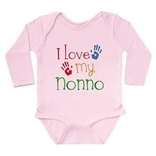 I Love Nonno Long Sleeve Infant Bodysuit