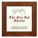 Fire Ant Gazette Framed Tile