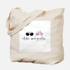 Stylin' and Profilin' Tote Bag