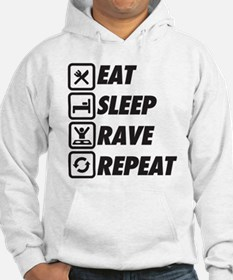 Eat Sleep Rave Repeat Sweatshirt