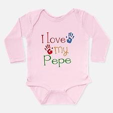 I Love Pepe Long Sleeve Infant Bodysuit
