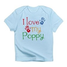 I Love Poppy Infant T-Shirt