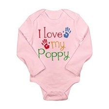 I Love Poppy Onesie Romper Suit